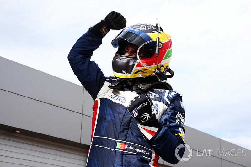 Ganador de la carrera #32 United Autosports, Ligier JSP217 - Gibson:  Filipe Albuquerque