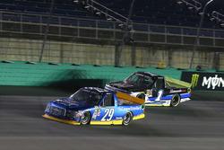 Chase Briscoe, Brad Keselowski Racing Ford and Jordan Anderson, Rick Ware Motorsports Chevrolet