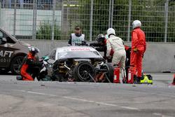 Unfallauto von Gary Paffett, Mercedes-AMG Team HWA, Mercedes-AMG C63 DTM