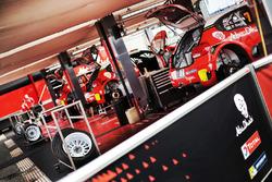 Citroën World Rally Team area