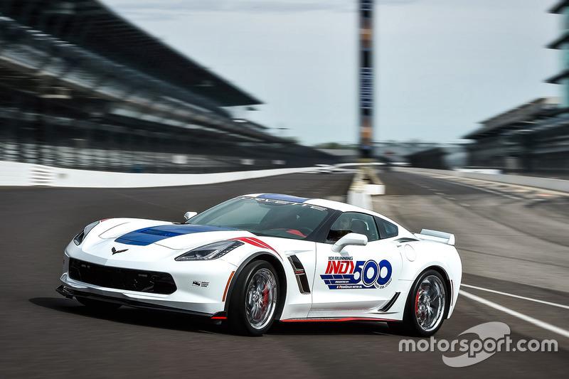 Corvette pace car Grand Sport Indy 500