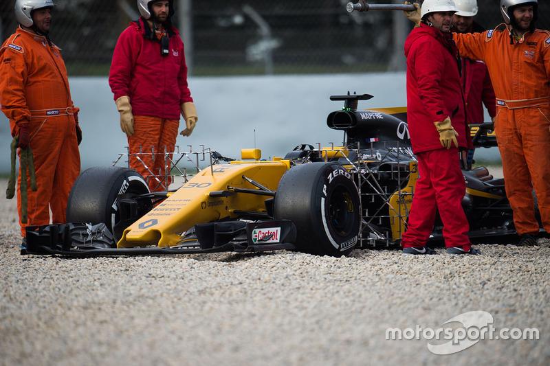 Dreher: Jolyon Palmer, Renault Sport F1 Team RS17