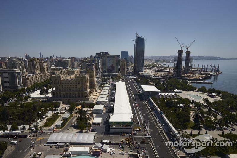 Атмосфера міського треку Баку