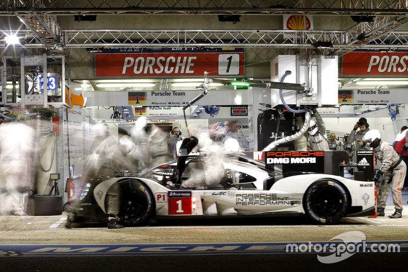 #1 Porsche Team Porsche 919 Hybrid: Тімо Бернхард, Марк Веббер, Брендон Хартлі