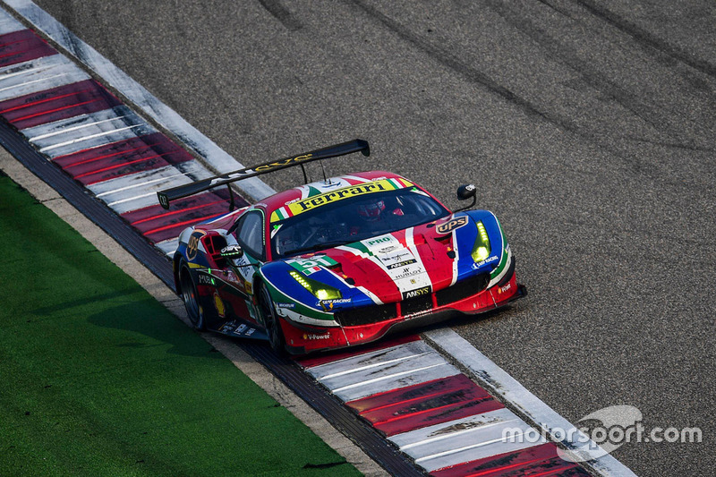 3. LMGTE-Pro: #51 AF Corse, Ferrari 488 GTE: Gianmaria Bruni, James Calado