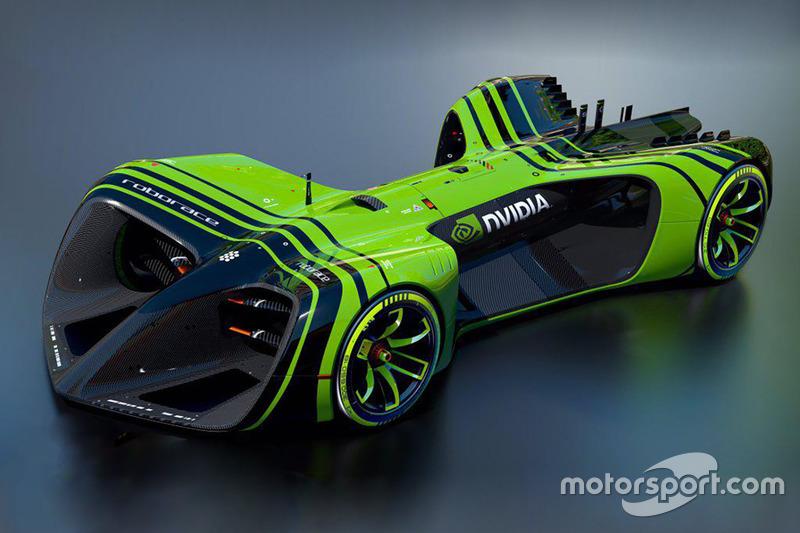 RoboRace, NVIDIA-Design