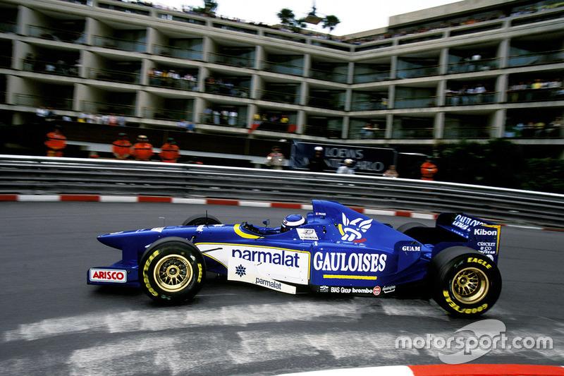 Олів'є Паніс (Ligier) - Монако, 1996