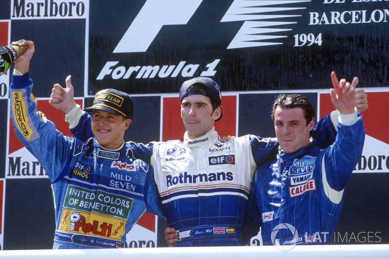 Михаэль Шумахер, Гран При Испании-1994. Позиция на финише: 2
