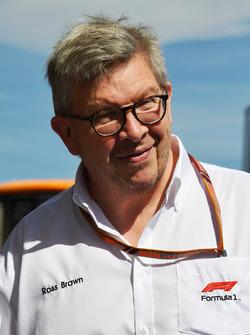 Ross Brawn, directeur de la compétition du Formula One Group