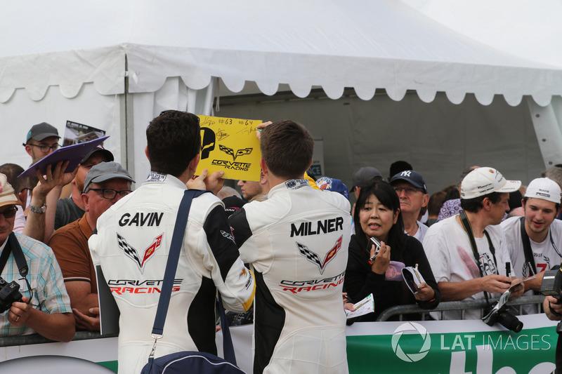 Oliver Gavin, Tommy Milner, Corvette Racing