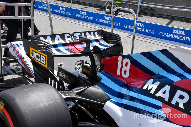 Заднее крыло Williams FW41