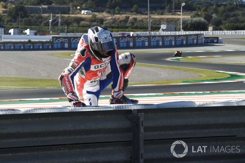 Scott Redding, Pramac Racing after the crash