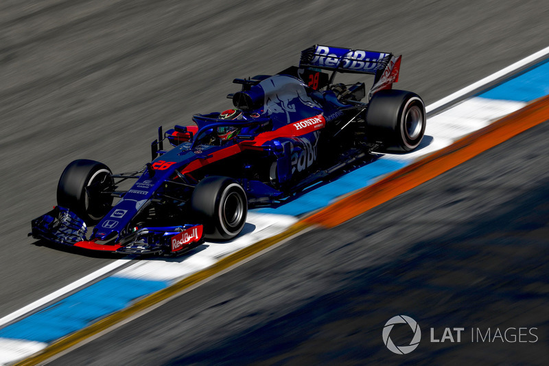 16. Brendon Hartley, Toro Rosso STR13