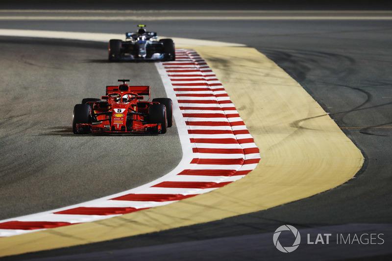 1 місце — Себастьян Феттель, Ferrari. Умовний бал — 82,917