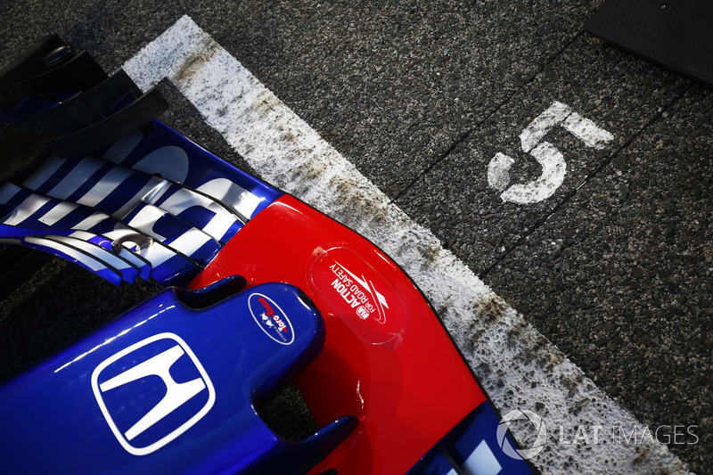 Автомобиль STR13 Пьера Гасли, Scuderia Toro Rosso