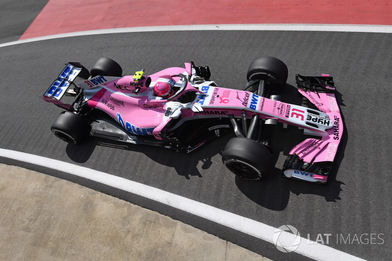 6º Force India VJM11 (1054 vueltas)