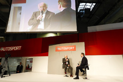 David Richards from the MSA talks to Henry Hope-Frost on the Autosport Stage