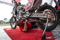 GasGas Rally Team bike