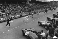 Start zu den 24h Le Mans 1954