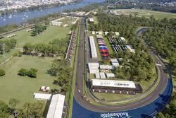 Progetto del tracciato di Rockhampton