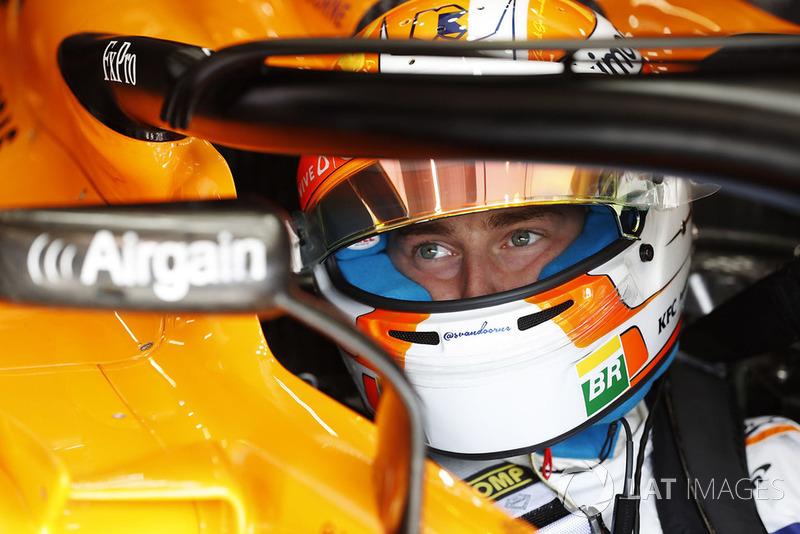 20. Стоффель Вандорн, McLaren MCL33, 1'45.307 (штраф)