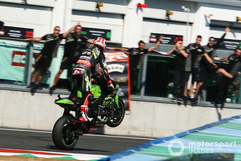 Jonathan Rea, Kawasaki Racing takes his 4th WSBK title