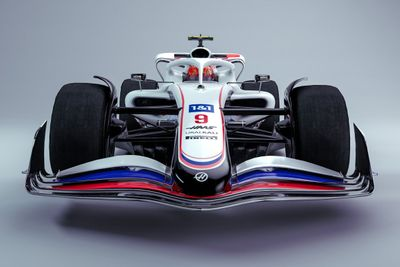 Onthulling F1-bolide 2022