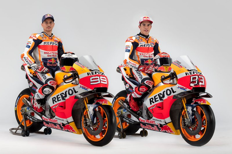 Хорхе Лоренсо и Марк Маркес, Repsol Honda Team