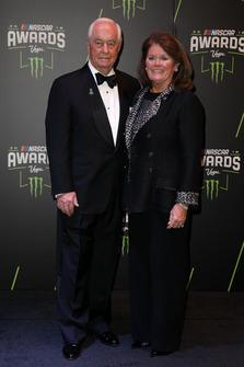 Roger Penske mit Ehefrau Kathy
