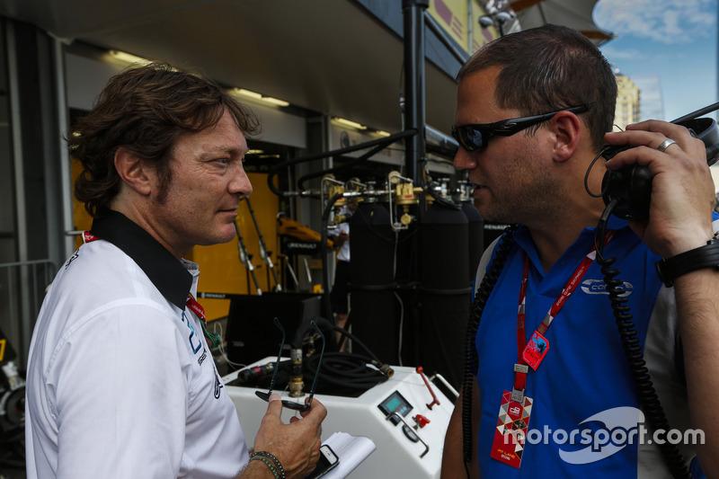 Marco Codello habla Director del equipo de GP2 de Carlin, Benn Huntingford