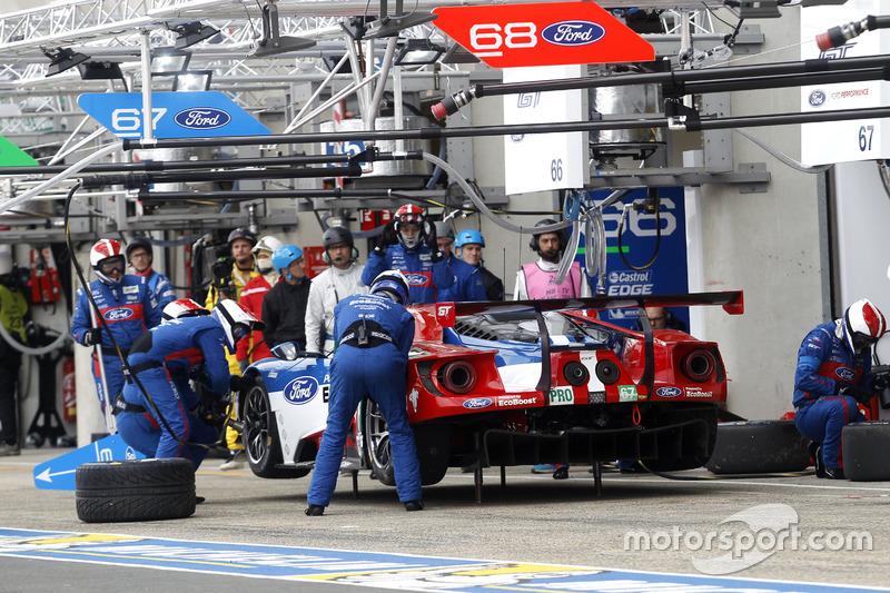 40e: #67 Ford Chip Ganassi Racing Ford GT: Marino Franchitti, Andy Priaulx, Harry Tincknell