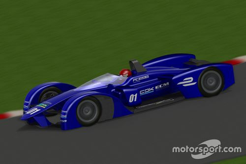 TEOS Formule E chassis voorstel