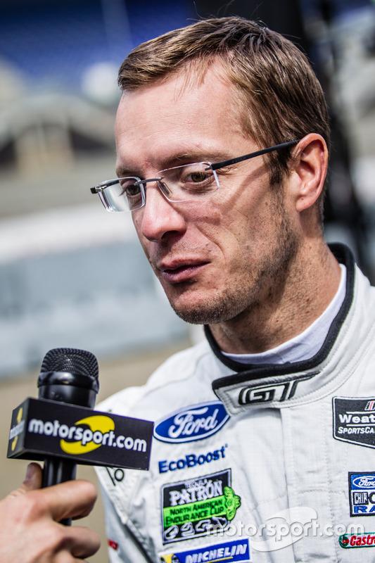 #68 Ford Chip Ganassi Racing Ford GT: інтерв'ю Себастьяна Бурде Алексу Вюрцу для Motorsport.com