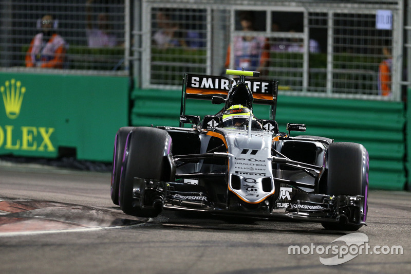 17. Sergio Perez, Sahara Force India F1 VJM09 (Startplatzstrafe)