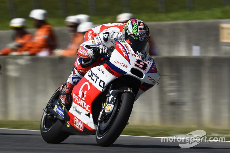 Danilo Petrucci (Pramac Racing) 8. Platz