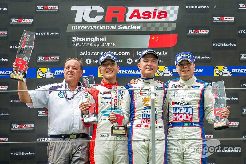 TCR Asia Series, Shanghai: podio di Gara 2
