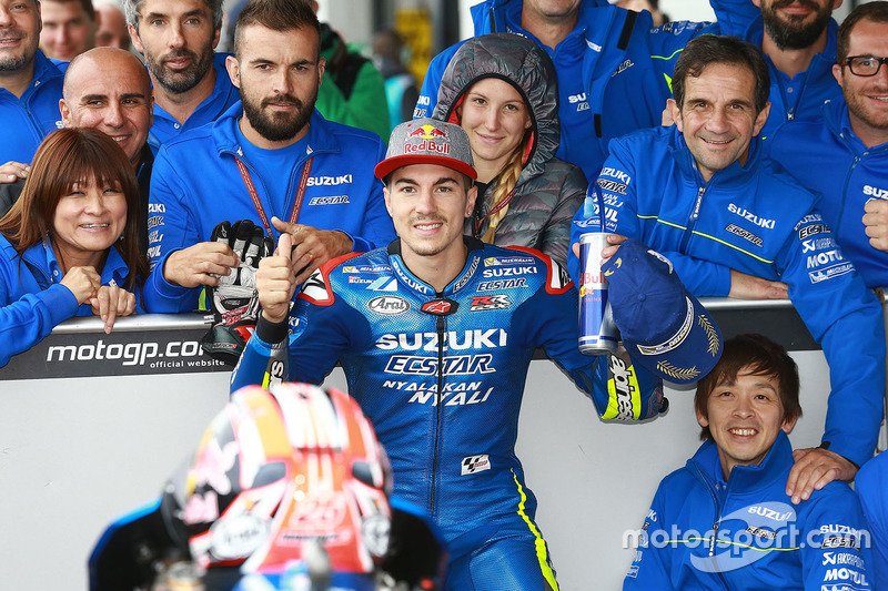 Terzo qualificato Maverick Viñales, Team Suzuki MotoGP