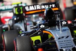 Sahara Force India F1 VJM09 de Nico Hulkenberg, Sahara Force India F1 en parc ferme