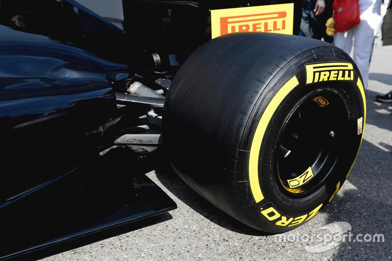 Pirelli-Reifen für 2017, Detail