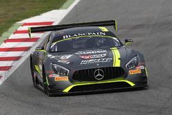 #85 HTP Motorsport, Mercedes AMG GT3: Clemens Schmid, Jazeman Jafaar