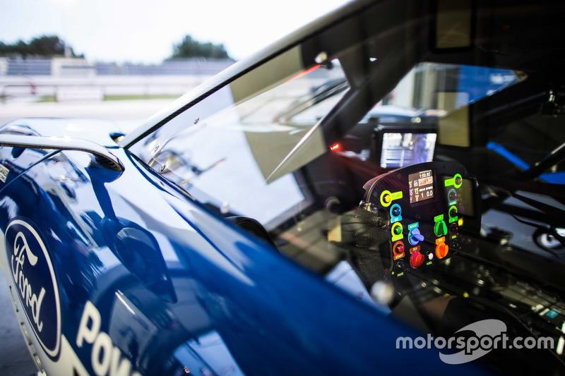 Detail, #66 Ford Chip Ganassi Racing Team UK, Ford GT: Billy Johnson, Stefan Mücke, Olivier Pla