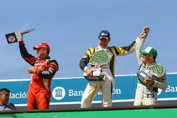 Подіум, Гілльєрмо Ортеллі, JP Racing Chevrolet, Омар Мартінес, Martinez Competicion Ford, Гастон Мац