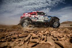 #314 MINI ALL4 Racing: Jakub Przygonski, Tom Colsoul