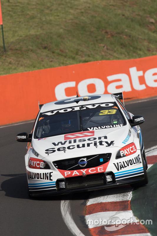 Scott McLaughlin und David Wall, Garry Rogers Motorsport, Volvo
