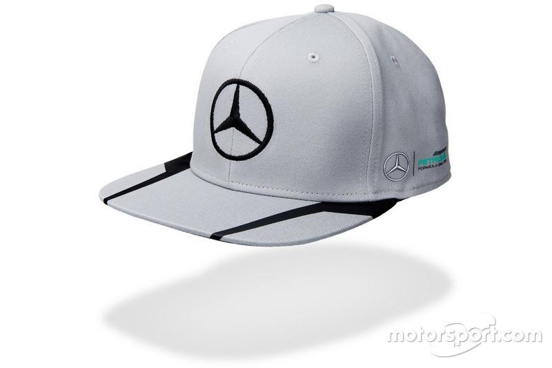 Casquette Mercedes AMG Petronas Lewis Hamilton grise
