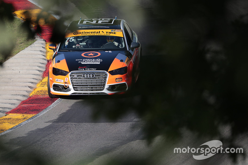 #75 Compass360 Racing Audi S3: Roy Block, Jayson Clunie