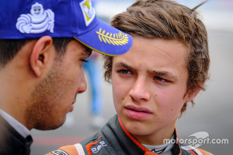 Lando Norris, Josef Kaufmann Racing e Jehan Daruvala, Josef Kaufmann Racing