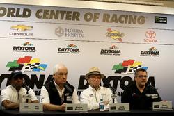 Raj Nair, Ford Peformance; Roger Penske, Team Penske; Jack Roush, Roush Fenway Racing; Tony Stewart, Stewart-Haas Racing