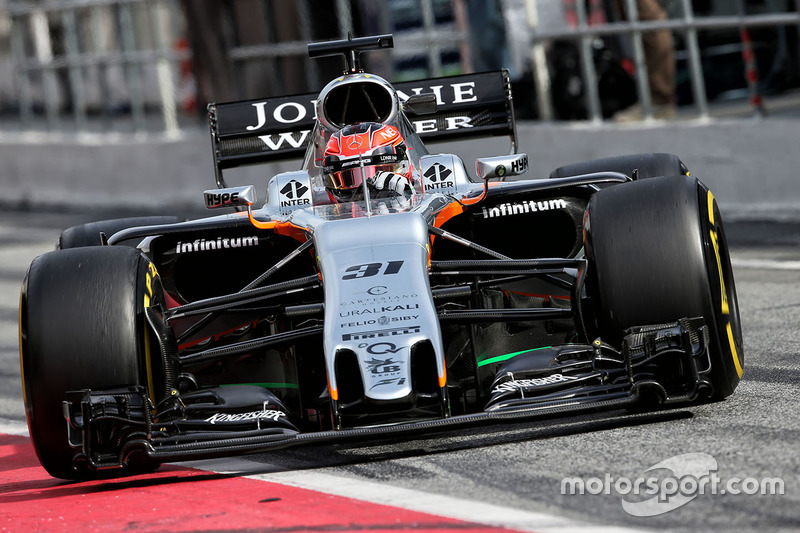 Эстебан Окон, Sahara Force India F1 VJM10
