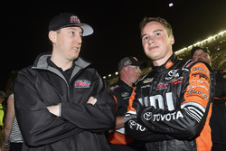 Christopher Bell, Kyle Busch Motorsports Toyota and Kyle Busch